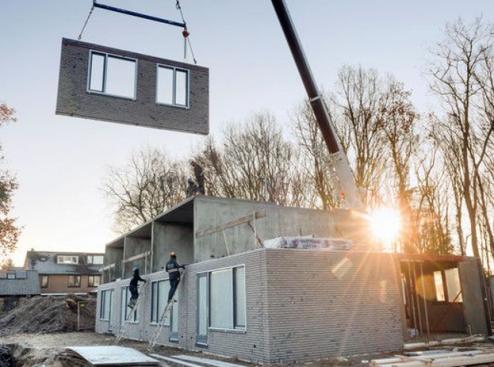 Duurzaam bouwen met prefab beton – Joke en Leni